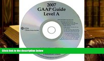 Best Ebook  GAAP Guide Level A (Standalone CD) (Miller)  For Trial