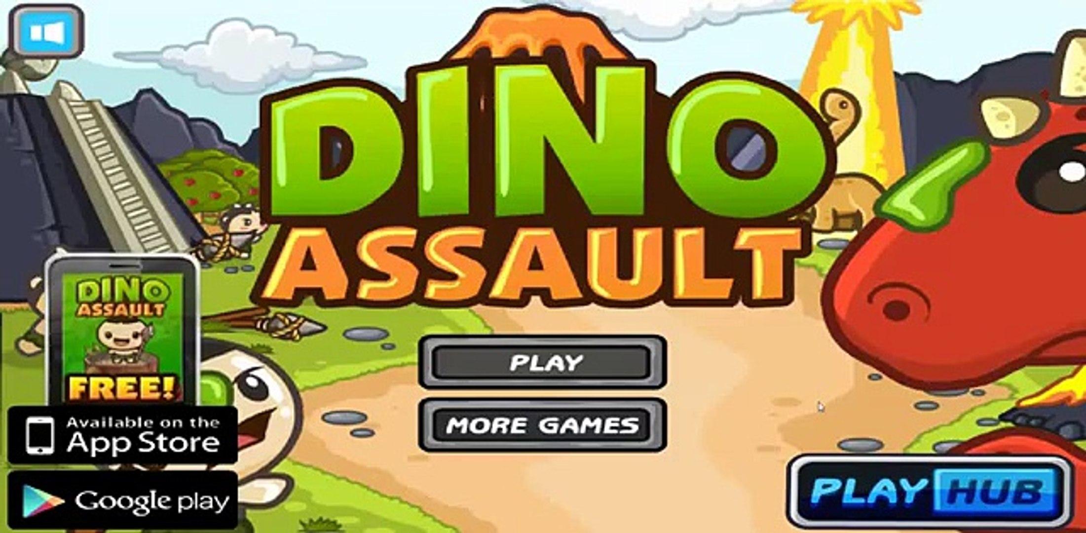 Dino Assault Walkthrough, Level 1 - 5
