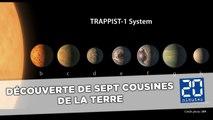 Découverte de sept cousines de la Terre découvertes autour d'une étoile voisine