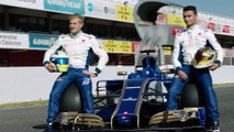 Sauber F1 Team first on the racetrack