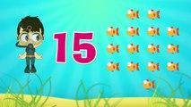 Los Números árabes | Aprender los Números en árabe para los niños 1-20 | تعلم الأرقام العربية للأطفال ١ -