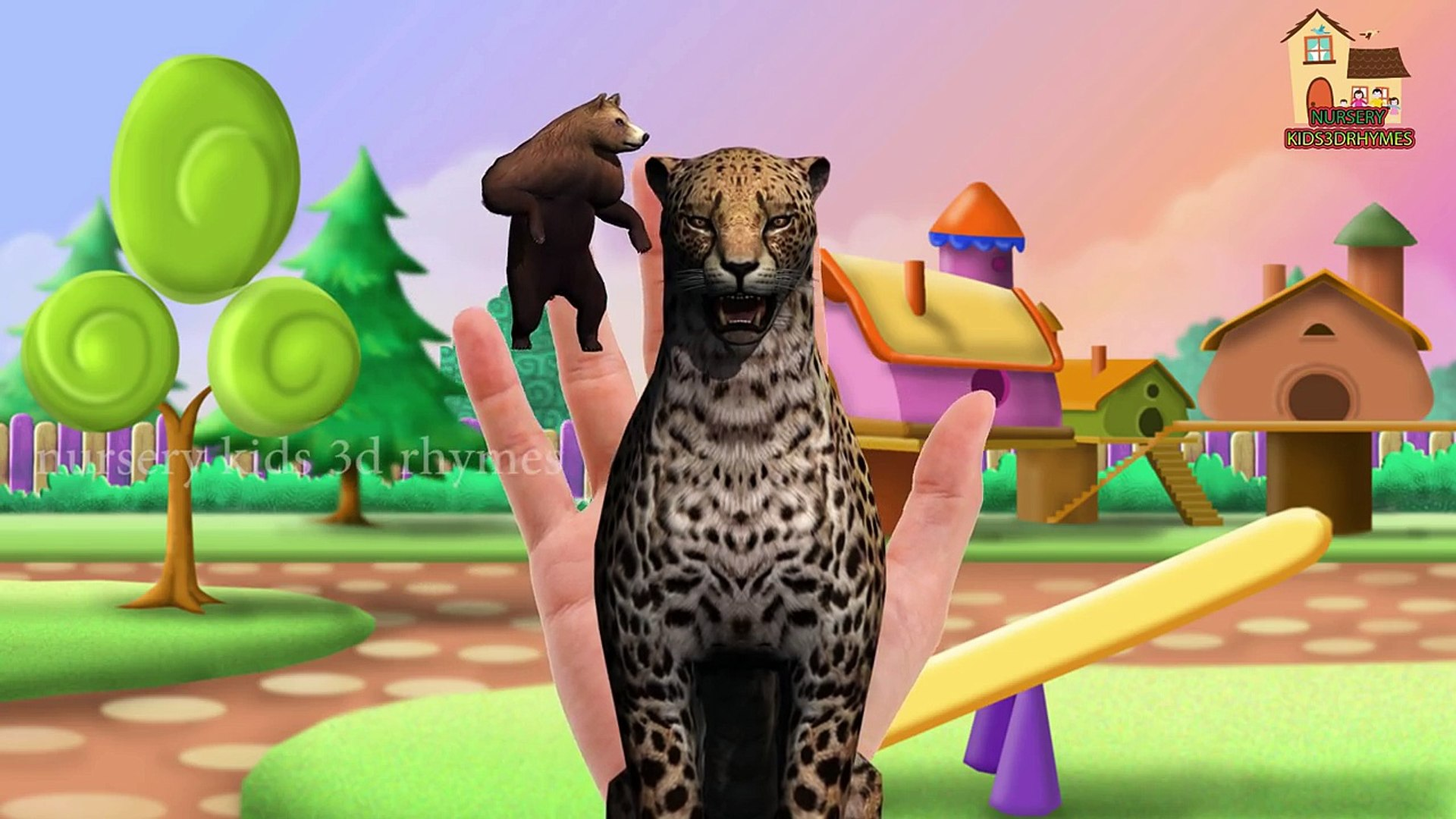 Animated Cheetah Wallpaper animals finger family 3d rhymes for kids( lion,tiger,cheetah)