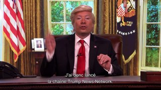 "Jimmy Fallon crée ""Trump News Network"" - The Tonight Show du 22/02 - CANAL+"
