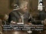 Beppe Grillo incontra Prodi