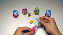 Cars Race - Lightning McQueen vs Banana Minion and Surprise Eggs Cartoon Videos for Kids