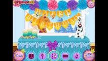 Disney Frozen Elsa y Anna de la Fiesta de Cumpleaños de Juego para niños Bebé Barbie Frozen Parte