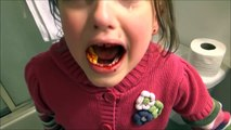 Baby Annabelle Bloody Tooth Freaks Out Victoria & Freak Daddy Save The Day Toy Freaks