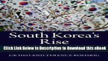 Read Online South Korea s Rise: Economic Development, Power, and Foreign Relations Online Free