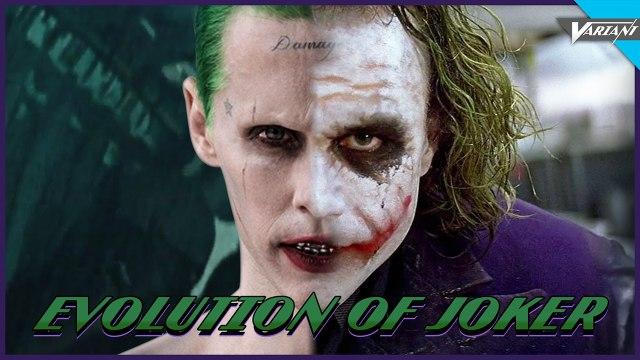 Evolution Of The Joker In Movies & Cartoons!
