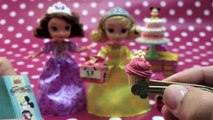 RE-MENT Collection Minnie Mouse Sweet Shop スイーツ ショップ Miniature Toys Disney Princess Sofia The First