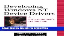 download epub Developing Windows NT Device Drivers: A Programmer s Handbook Read Online
