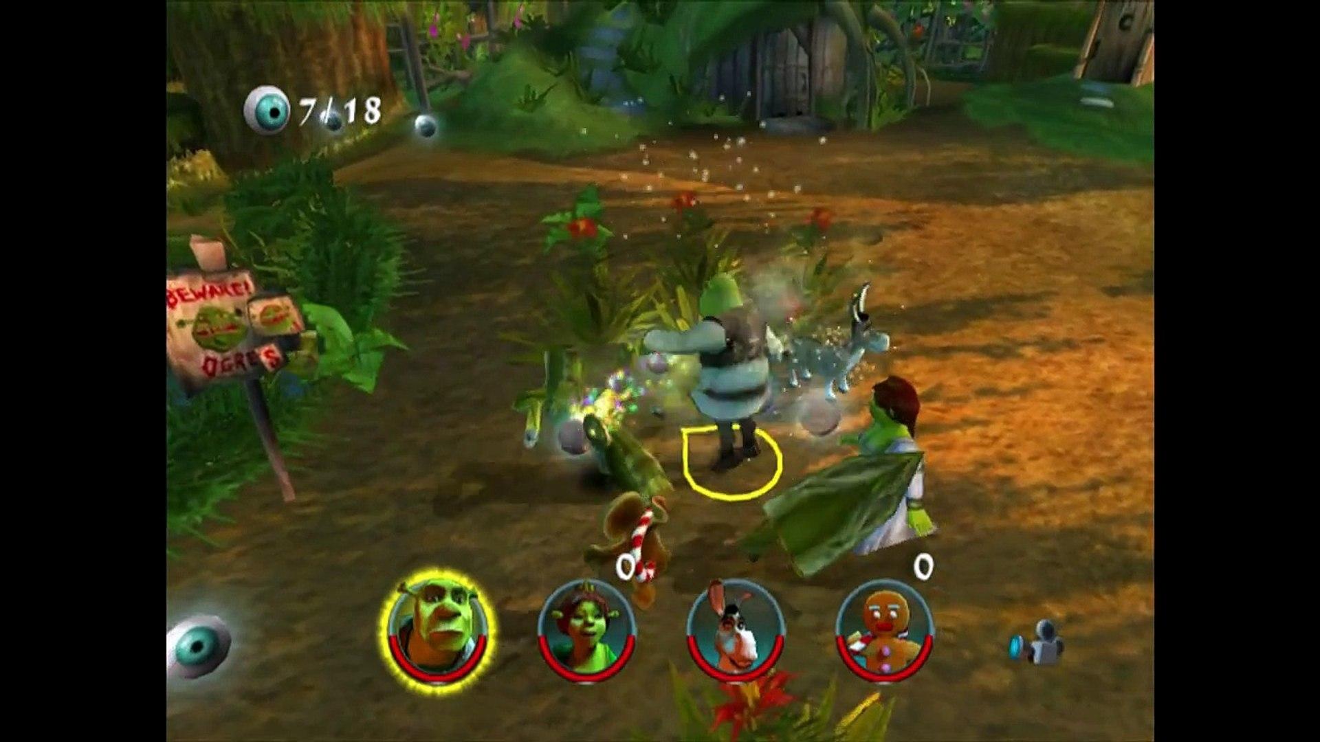 Shrek 2 Game Walkthrough Part 1 Shreks Swamp No Commentary Gameplay Gamecube Xbox P Dailymotion Video