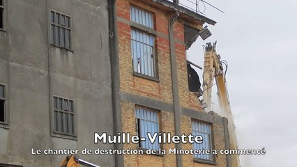 Muille-Villette : Au coeur du chantier de destruction de la minoterie