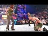 WWE John Cena vs Lita _ John Cena nearly killed Lita _Edge  save Lita