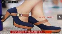 Sepatu Heels, Sepatu Heels Cantik Wanita, Sepatu Heels Bisa Pesan Warna Coklat, 0838.11.2525.24