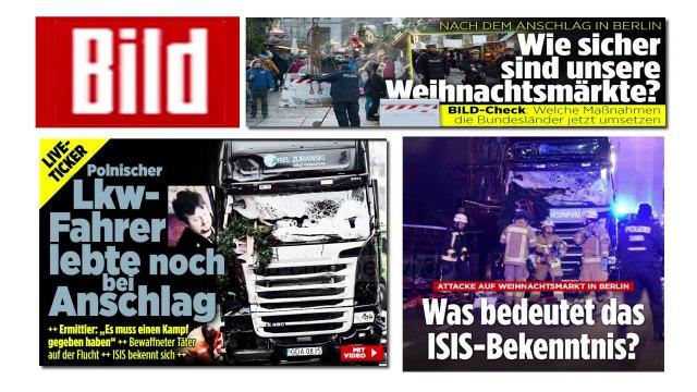 Berlin, në kërkim të tunizianit të sulmit me 12 viktima - Top Channel Albania - News - Lajme
