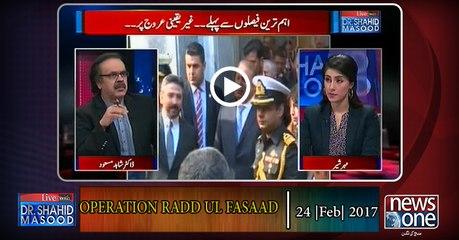 Live with Dr.Shahid Masood | 24-Feb-2017