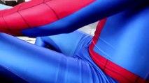 SPIDERMAN vs VENOM a los Niños la Diversión de Video de Pedos y Caca Broma de Comida Envenenada, la Divertida Película de Superhéroes en