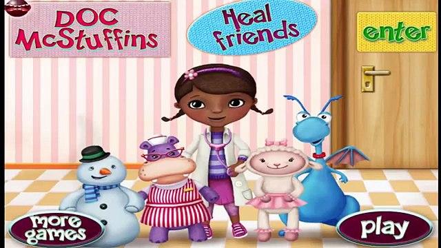 Doc Mcstuffins Heal Friends - Doc McStuffins Games