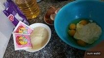 مطبخ ام وليد كيكة السميد و الفرينة روعة-الطبخ