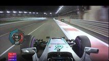 Onboard pole position lap - Lewis Hamilton, Abu Dhabi 2016