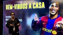 """Ronaldinho: """"El fútbol chino aprenderá mucho con el Barça"""""""