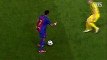 هدف رائع من مبولا لاعب برشلونة في دوري ابطال اوروبا للشباب