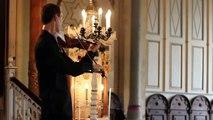 La reacción de un violinista cuando suena teléfono en su concierto