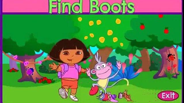 DORA find Boots Dora & Diego Dora lExploratrice Dora the Explorer full episodes Hyv9klgdD