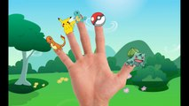 Pokemon Finger Family Nursery Rhymes collections | Pokemon 3D Animated Cartoon Rhymes For