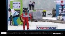 Mondiaux de ski de fond : Le Vénézuélien Adrian Solano participe alors qu'il ne sait pas skier ! (Vidéo)