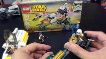 Lego Star Wars Rebels 75090 Ezras Speeder Bike Speed Build Review