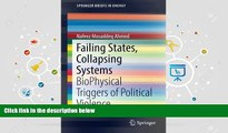 Audiobook  Failing States, Collapsing Systems: BioPhysical Triggers of Political Violence