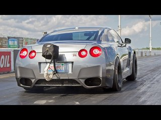 1800HP Alpha16 GTR Record - Holy FAST!