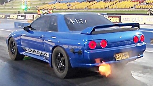 BRAND NEW 1,000 Horsepower GTR Goes 8's!