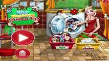 Elsa Washing Christmas Toys: Christmas Games - Elsa Washing Christmas Toys | Kids Play Pal