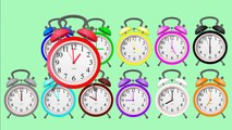 Learn Colors and Clock Time, Fun Learning Colors And Clock Time In English For Kids