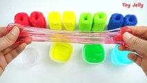 How To Make Colors Cheese Stick Clay Slime Toy DIY Rainbow Foam Clay Sticks Slime Learn Co
