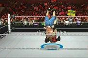 wwe 2k - Kane Defeated John Cena in a place for the wwe championship. New 2017