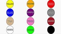 Aprender Colores, Formas, Tamaños para el Niño y el niño en edad Preescolar   Comida Divertida a los Niños Juegos de Mago