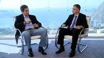 Entrevista com Roberto Jefferson presidente do PTB e ex deputado federal