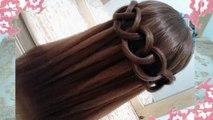 Trenzas con cabello recogido