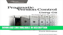 Audiobook Free Pragmatic Version Control Using Git (Pragmatic Starter Kit) online pdf
