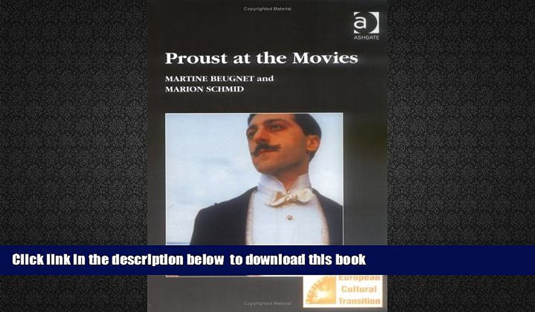 PDF [FREE] DOWNLOAD  Proust at the Movies (Studies in European Cultural Transition) [DOWNLOAD]