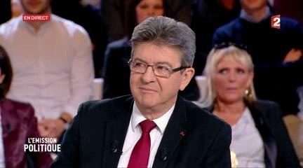 """Jean-Luc Mélenchon invité à """"L'émission politique """" sur France 2 le 23/02/2017"""