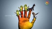 3D Caballo Aprender los Colores de las Canciones de la Colección | dragon Dedo de la Familia de las Rimas de dibujos animados rimas para k