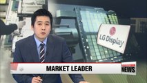 LG Display maintains top spot in global LCD TV panel shipments
