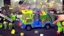 THE TRASH PACK SERIES TOYS Junk Truck Playset Toy Video Review Unboxing Moose Toys