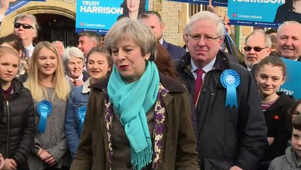 Theresa May hails Copeland