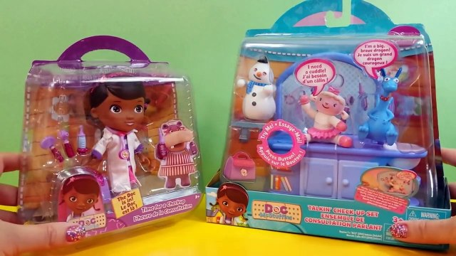 Disney Junior Doc McStuffins Singing Time for a Check-Up Song and Lambie Sings I Feel Bett